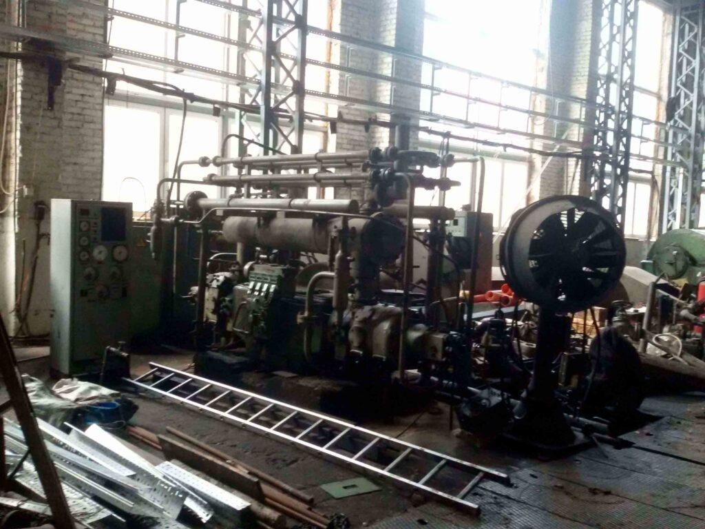 Модернизация цеха на «Днепропресс»