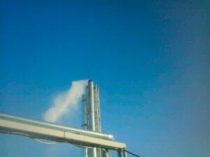 Строительство дымовой трубы