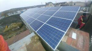 Сонячна електростанція у Степанках