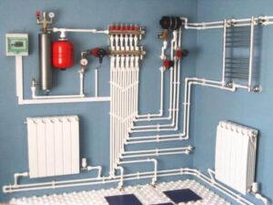 Разработка системы отопления