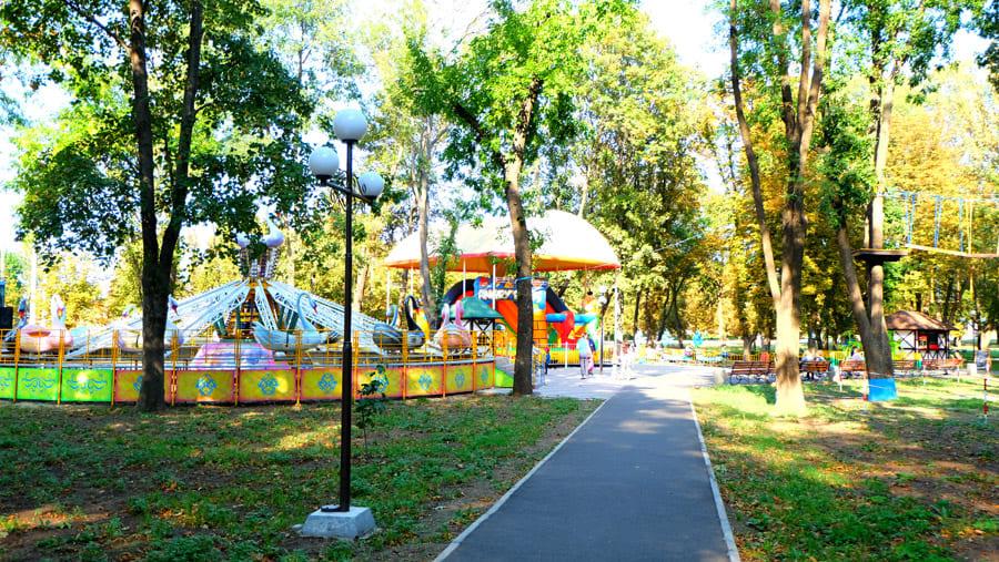 Сад Бернацького, м. Краматорськ