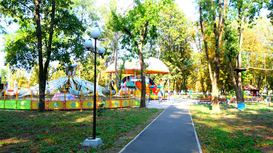 Сад Бернацкого в г. Краматорск