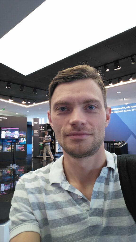 Даниил Козий в инновационном центре Rittal