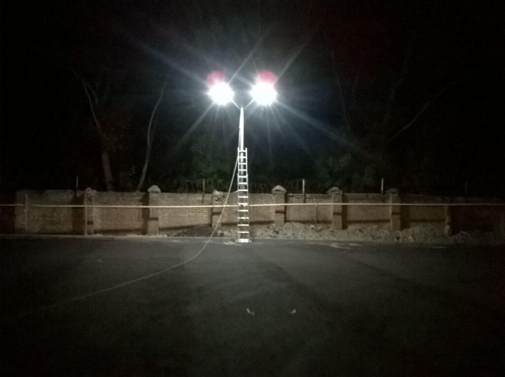 Система автономного освітлення окружної дороги