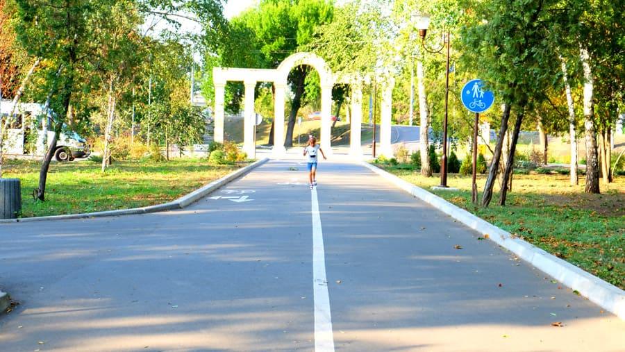 Сад Бернацького у м. Краматорськ