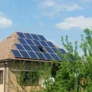 Солнечная электростанция в Борках