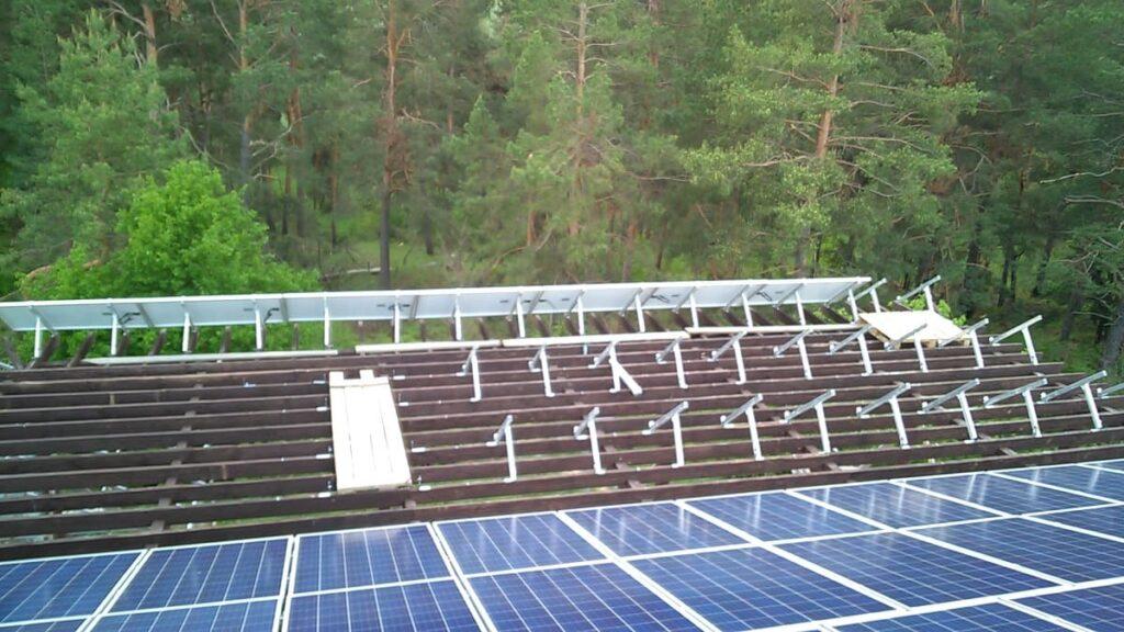 Встановлення мережевої фотоелектричної станції