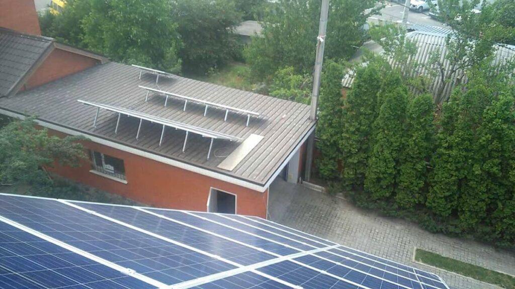 Гибридная солнечная электростанция (г. Харьков)