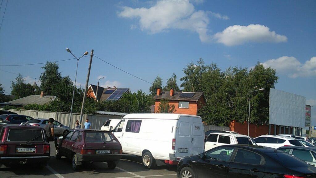 Гелиосистема для гостевого дома в г. Харьков