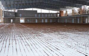 Строительство Ледовой арены в Краматорске