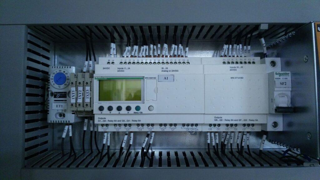 Система управления станком обработки гильз