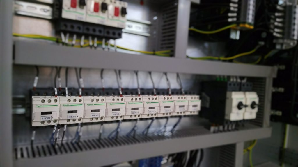 АСУ станции тяговых двигателей электровозов