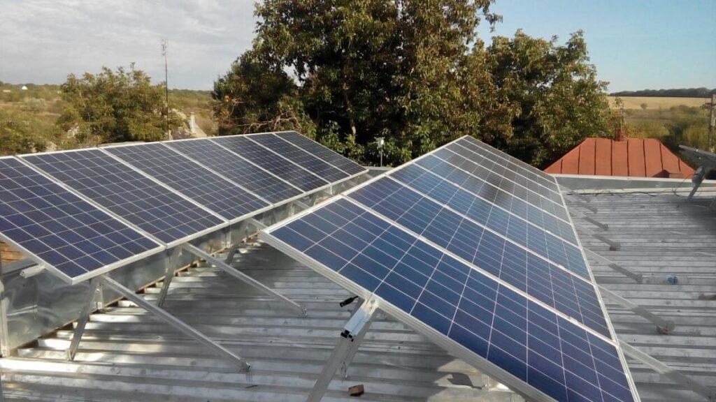 Сетевая солнечная электростанция (с. Федорцы)