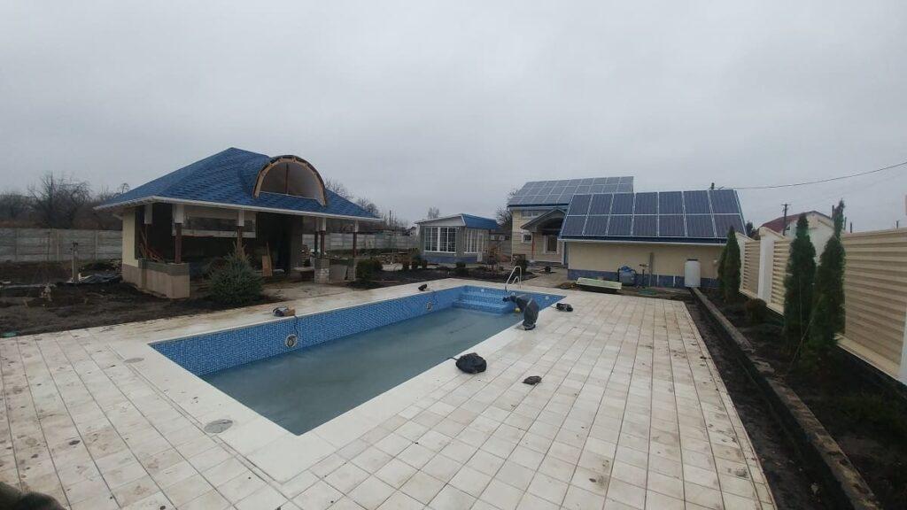 Сонячна електростанція у приватному будинку