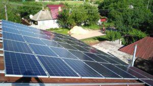Солнечная электростанция в п. Степанки Харьковской области
