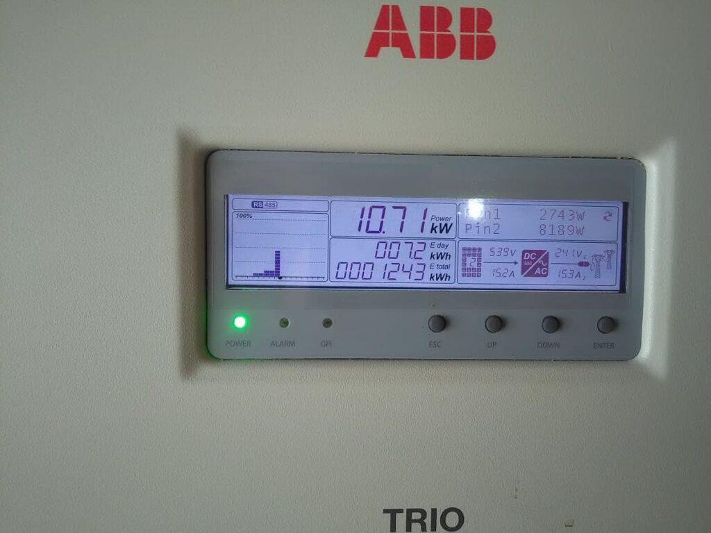 Солнечная электростанция в п. Степанки