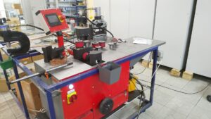 Верстат для обробки струмопровідних шин