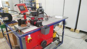 Станок для обработки токопроводящих шин