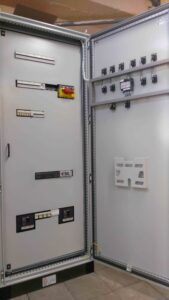 Разработка шкафов управления для Носовского ХПП