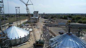 Строительство элеватора в Волчанске