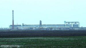 Сахарный завод в Новооржицком