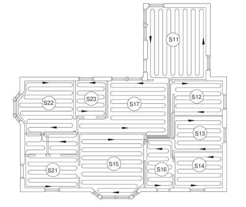 Что нужно знать при проектировании системы водяной теплый пол
